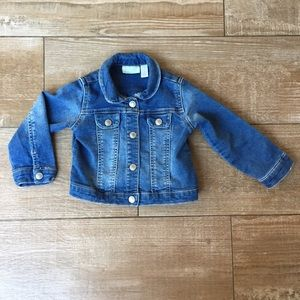 Toddler 2T Classic Blue Button Down Jean Jacket